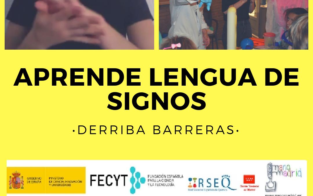 """""""Taller de Introducción al aprendizaje de la Lengua de Signos"""""""
