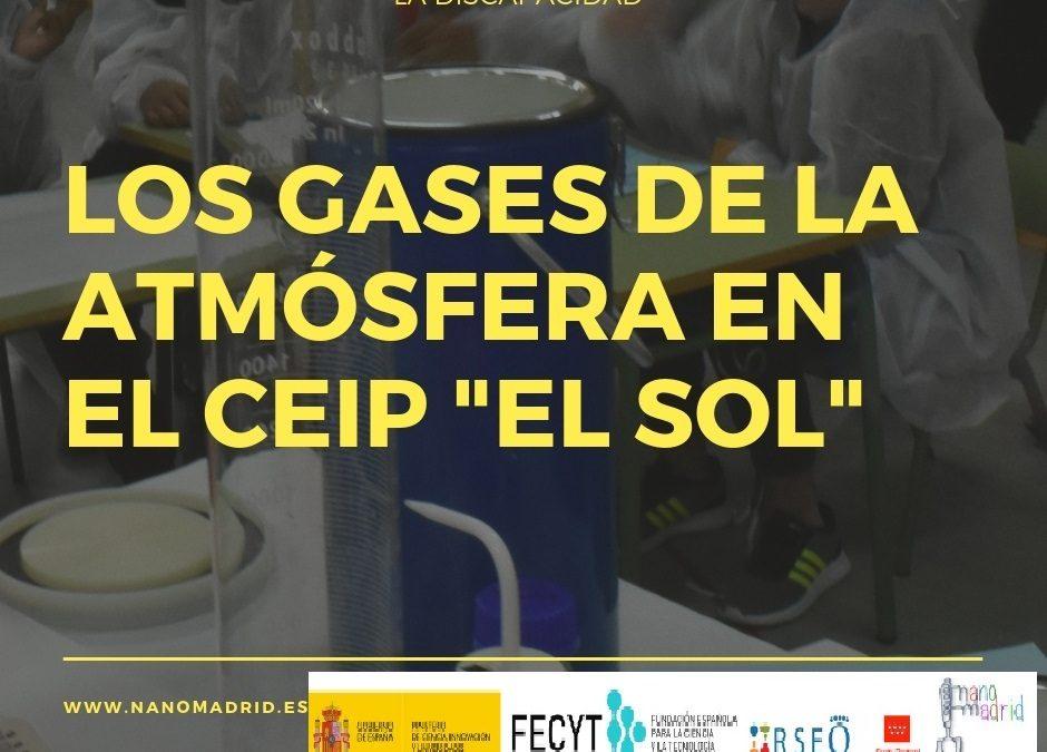 Los Gases de la atmósfera en el CEIP «El Sol»