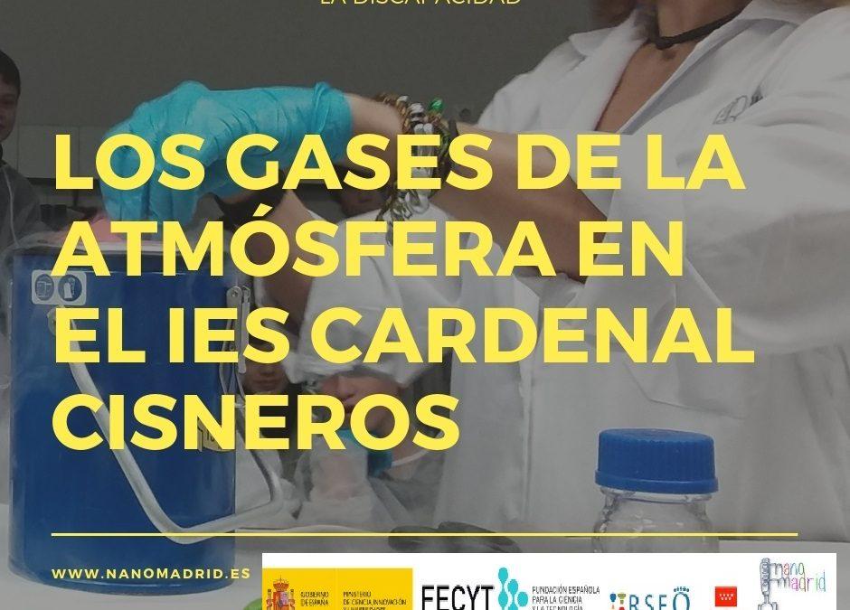 Los gases de la atmósfera en el IES Cardenal Cisneros