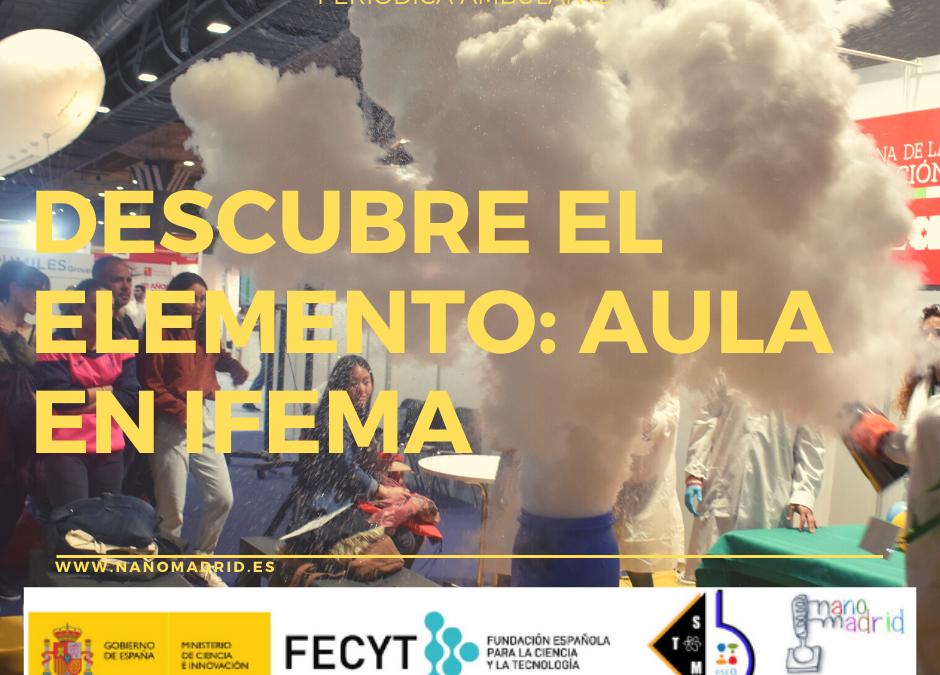 Descubre el elemento en IFEMA