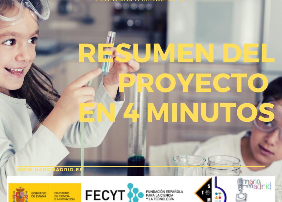 Resumen del proyecto en 4 minutos