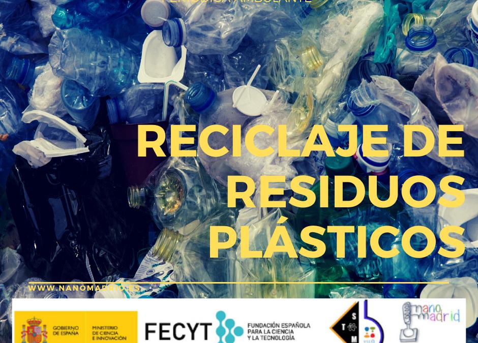 Reciclado de residuos plásticos